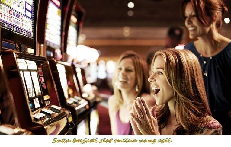 Suka berjudi slot online uang asli